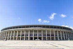 Olympiastadion Olimpijski stadium w Berlin, Niemcy zdjęcia royalty free