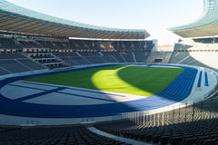 Olympiastadion, Berlin, Germany. The olympic stadium in Berlin. Used for football by Hertha Berlin Royalty Free Stock Photo