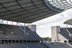 Olympiastadion Olympisch Stadion in Berlijn, Duitsland Stock Foto's
