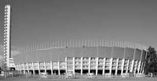 Olympiastadion Olympische stadion en toren Stock Afbeeldingen