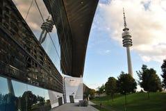 Olympiaturm München Stockfoto
