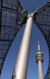 Olympic tower - Munich Royalty Free Stock Photos
