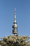 Olympic tower - Munich Royalty Free Stock Photography