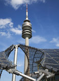 Olympiaturm tower Munich Stock Photos