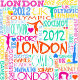 Olympic background. A background for London Olympic 2012 Stock Image