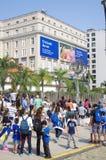 Olympic boulevard in Rio de Janeiro Stock Image