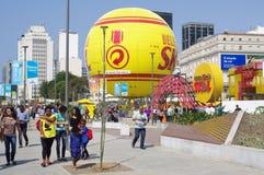 Olympic boulevard in Rio de Janeiro stock photo