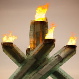 Olympic Cauldron For Vancouver 2010 Winter Games Stock Image