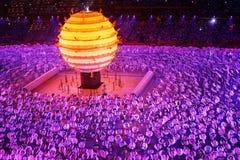 olympic ceremoni Arkivfoto