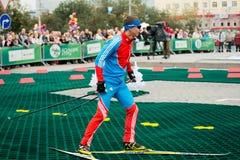 Olympic champion Evgeny Ustyugov Royalty Free Stock Images