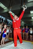 Olympic champion gymnast Alexei Nemov Royalty Free Stock Photos