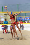 Olympic champion kerri walsh,famous beauty Royalty Free Stock Image