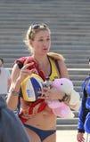 Olympic champion kerri walsh,famous beauty Royalty Free Stock Photos