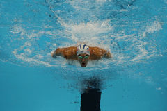 Olympic champion Michael Phelps of United States competes at the Men's 200m individual medley of the Rio 2016 Olympic Games Stock Image
