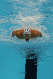 Olympic champion Michael Phelps of United States competes at the Men's 200m individual medley of the Rio 2016 Olympic Games Stock Photo