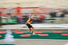 Olympic champion Olga Zaitseva Royalty Free Stock Image