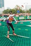 Olympic champion Svetlana Sleptsova Stock Image