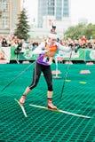 Olympic champion Svetlana Sleptsova Royalty Free Stock Image