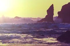 Olympic coast Stock Photo