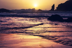 Olympic coast Royalty Free Stock Images
