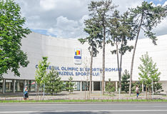 The Olympic Committee of Romania. Comitetul Olimpic si Sportiv Roman, Muzeul Sportului Stock Images
