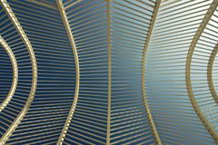 Olympic complex in Athens. An abstract detail royalty free stock photography