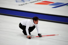 Olympic Curling 2010 Royalty Free Stock Photos