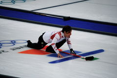 Olympic Curling 2010 Stock Images