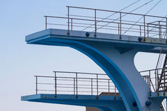 Olympic diving platform Royalty Free Stock Photography