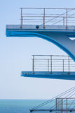 Olympic diving platform Royalty Free Stock Photo