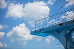 Olympic diving platform Stock Image