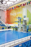 Olympic Diving Platforms Stock Photos