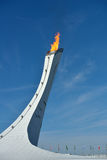 Olympic Flame in Sochi Royalty Free Stock Photo