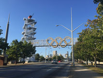 1996 Olympic Flame Tower Royalty Free Stock Image