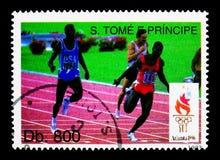 Olympic Games Atlanta - Athletism, serie, circa 1993 Stock Images