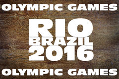 Olympic Games in Brazil 2016 Stock Photography