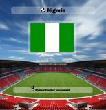 Olympic games - nigeria Royalty Free Stock Image