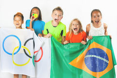 Olympic Games. Rio de Janeiro 2016 Brazil. Royalty Free Stock Images