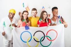 Olympic Games. Rio de Janeiro 2016 Brazil. Royalty Free Stock Photos