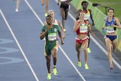 Olympic Games Rio 2016. IRio de Janeiro, Brazil - august 18, 2016: Runner ARZAMASOVA Marina (BLR) during 800m Women's run in the Rio 2016 Olympics Games royalty free stock photo