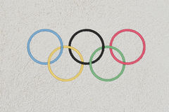Olympic games in rio 2016 Stock Images