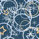 Olympic games 2014 seamless pattern Royalty Free Stock Photo