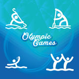 Olympic games Stock Image