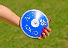 Olympic Games in Tokyo in 2020 royalty free stock photos