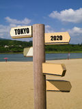 2020 Olympic Games, tokyo,japan Royalty Free Stock Photography