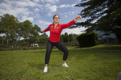 Olympic gold medal winner Sandra Perkovic Stock Photo