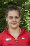 Olympic gold medal winner Sandra Perkovic Royalty Free Stock Image