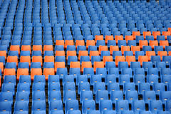 Olympic grandstand seats Stock Images