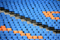 Olympic grandstand seats Royalty Free Stock Image