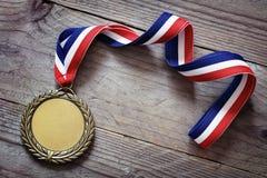 olympic guldmedalj arkivfoto